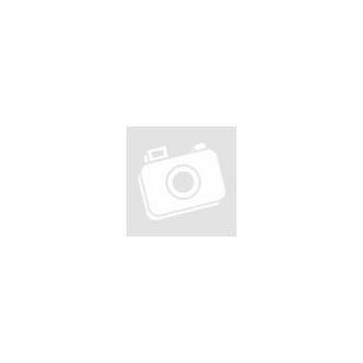 B/5 kombinált napló Extra Cross borítóval - Sarif fekete, piros díszsáv és gumi