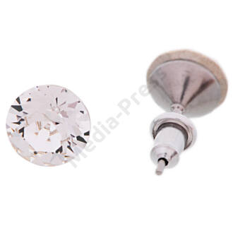 Diamond fülbevaló 8 mm  - Crystal