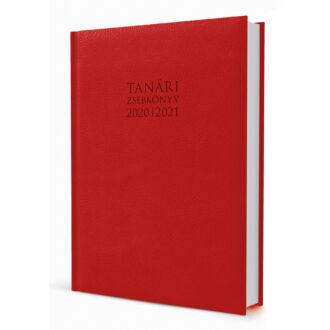 Eminens tanári zsebkönyv 2020/21 - Bufalino piros