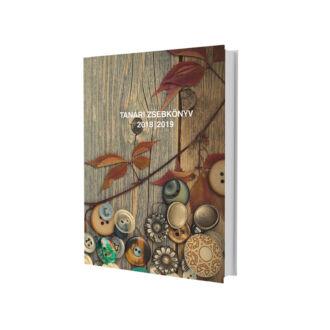 eMINENS nyomtatott tanári zsebkönyv / gombos (2019/20)