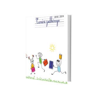 eMINENS nyomtatott tanári zsebkönyv / rajzos (2019/20)
