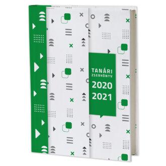 Eminens tanári zsebkönyv 2020/21 - minimal design - zöld