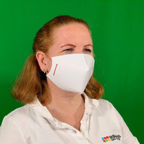 Papír maszk cégesítés nélkül