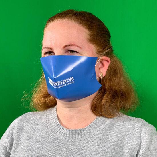 Papír maszk color egyedi nyomással