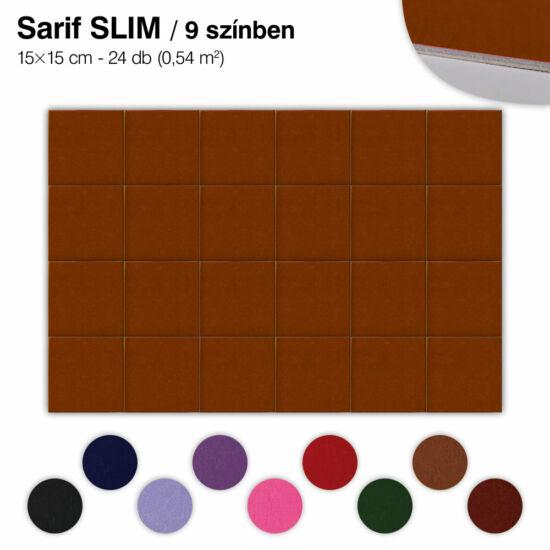 Falipanel SLIM Sarif 24 db 15x15 cm - 9 színben