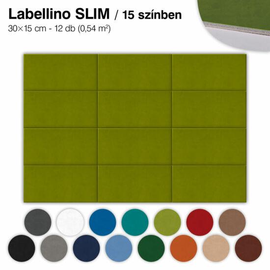 Falipanel SLIM Labellino 12 db 30x15 cm - 15 színben