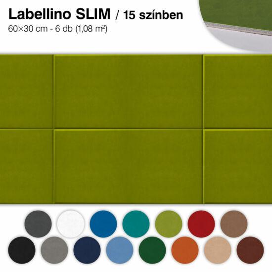 Falipanel SLIM Labellino 6 db 60x30 cm - 15 színben