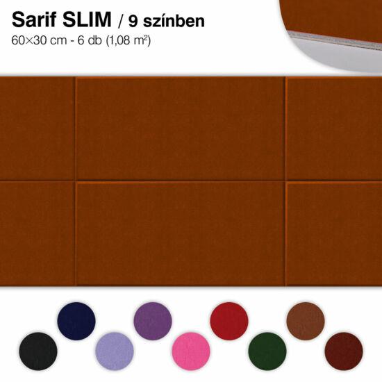 Falipanel SLIM Sarif 6 db 60x30 cm - 9 színben