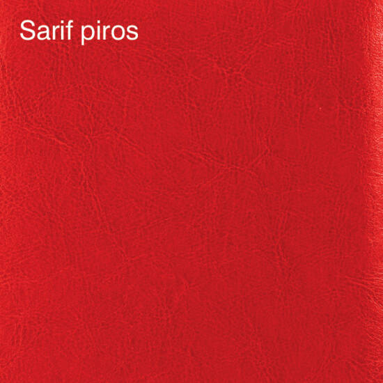 Falipanel SLIM Sarif 24 db 15x15 cm - piros