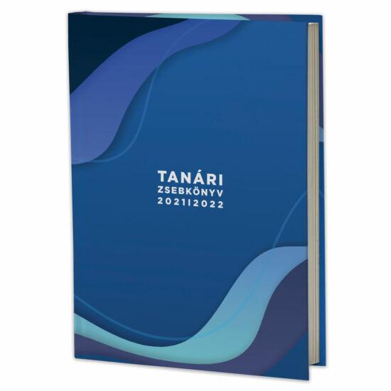 Eminens tanári zsebkönyv 2021/22 - kék hullám