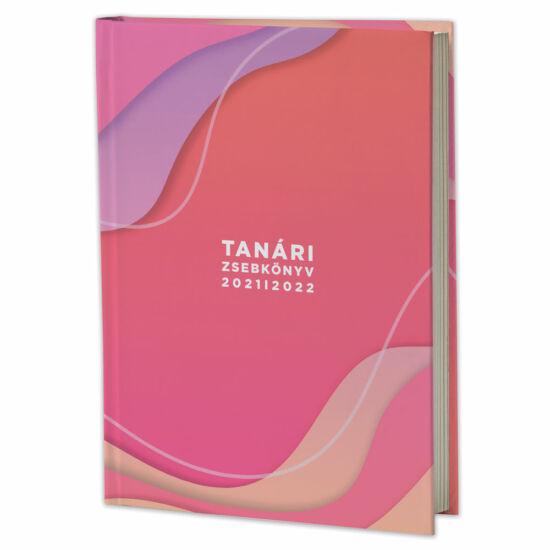 Eminens tanári zsebkönyv 2021/22 - pink hullám